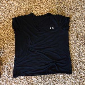 Black Short Sleeve UA T-Shirt